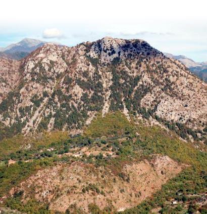 Le Monte Cifalco – Prise de vue de la cote 862 - Photographie FLG - Tous droits réservés