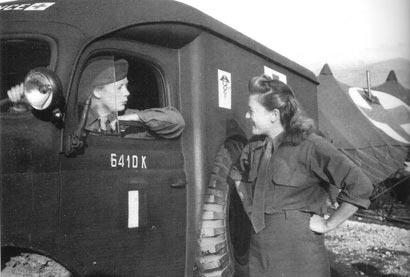 French ambulance women