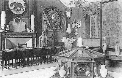 Photographie de la salle d'honneur du 4e R.T.T.