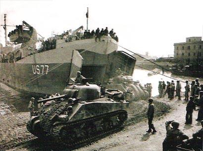 War ship tank