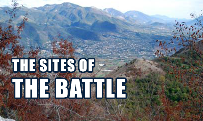 The sites of the battle